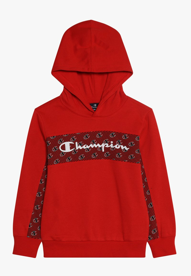 Champion - HOODED - Luvtröja - red