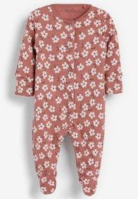 Next - 3 PACK - Sleep suit - brown - 1