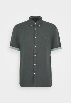 BUTTON DOWN,SHORT SLEEVE,POCKET,FAC - Chemise - mangrove