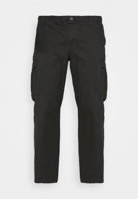 Jack & Jones - JJIROY JJJOE - Cargo trousers - black - 3