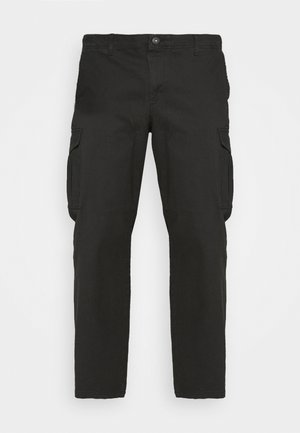 JJIROY JJJOE - Cargo trousers - black