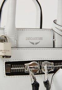 Zadig & Voltaire - CANDIDE NANO  - Handbag - blanc - 6