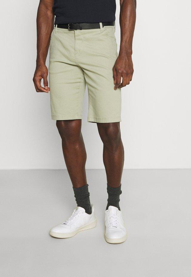 CLASSIC  BELT - Shorts - light army