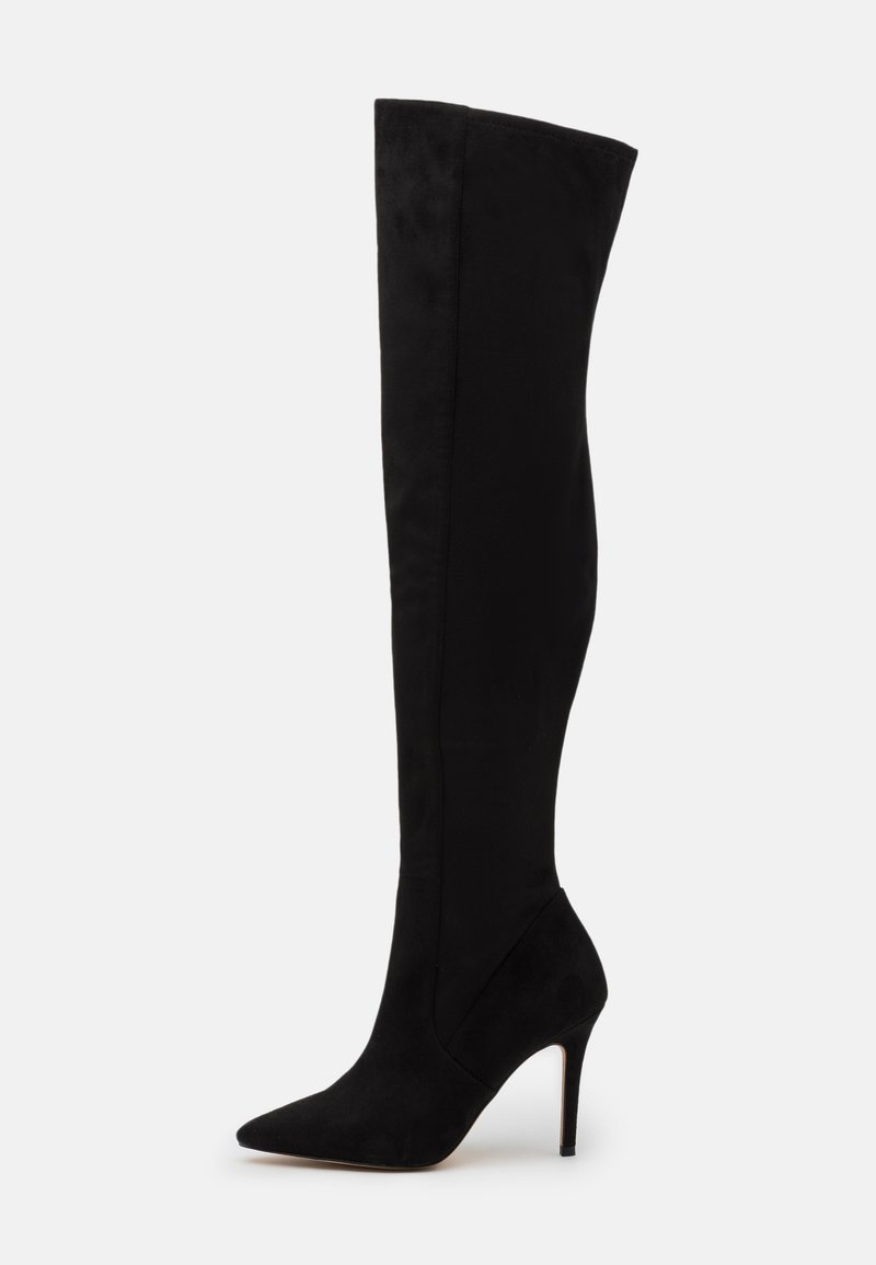 ALDO - IDEEZA - Over-the-knee boots - open black
