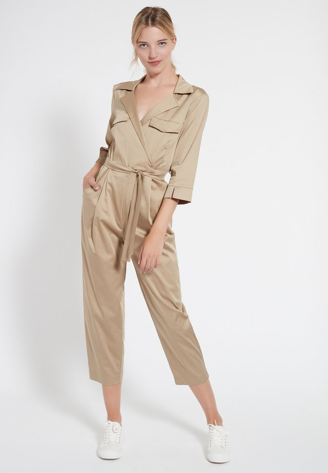 CANJEA - Jumpsuit - beige