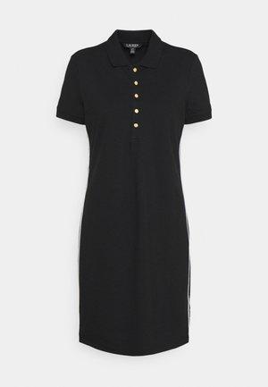 JADDOX SHORT SLEEVE DAY DRESS - Žerzejové šaty - black