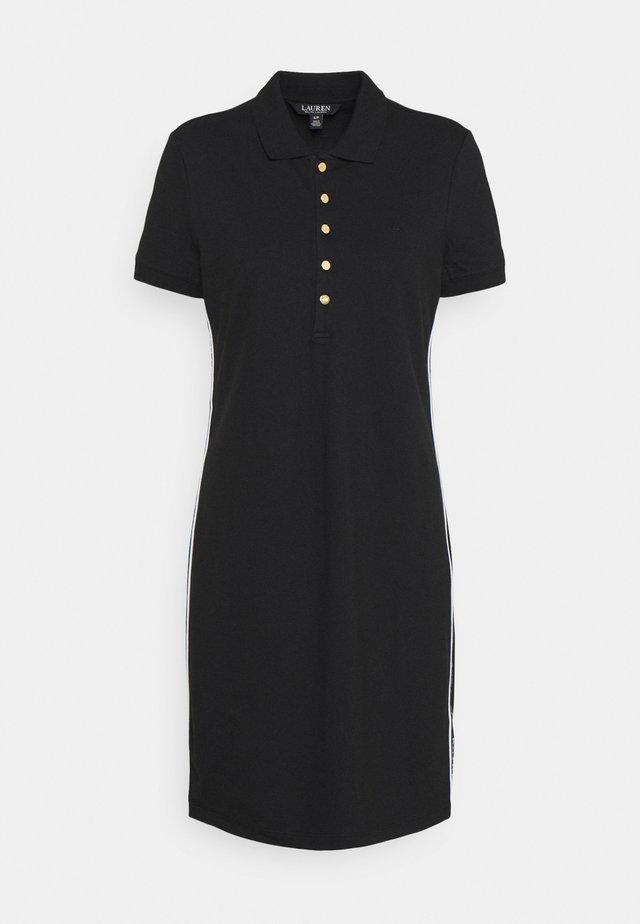 JADDOX SHORT SLEEVE DAY DRESS - Sukienka z dżerseju - black