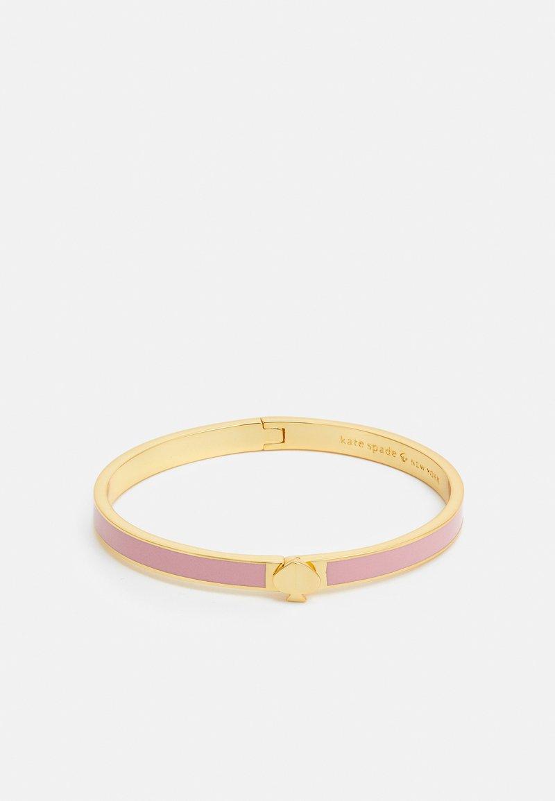 kate spade new york - HERITAGE THIN BANGLE - Bracelet - rococo pink