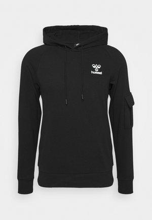 TALIA HOODIE - Bluza z kapturem - black