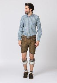 Stockerpoint - PORTOS - Shirt - green/light grey - 1