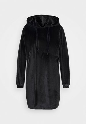 JDY HOODIE DRESS - Day dress - black