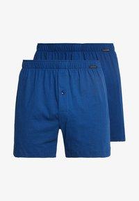 Schiesser - 2 PACK - Boxer shorts - blau - 3