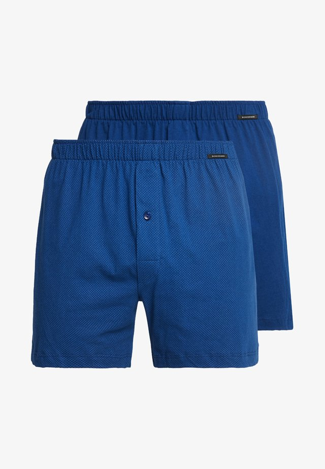 2 PACK - Boxer shorts - blau