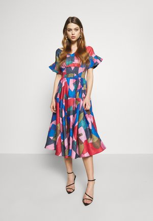 YOUNG LADIES DRESS - Cocktail dress / Party dress - multi-coloured