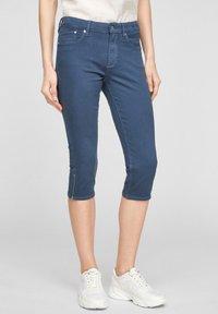 s.Oliver - Denim shorts - blue - 0