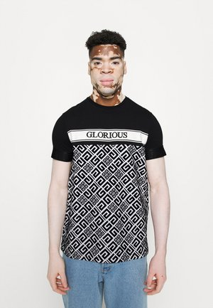 AXEL - T-shirt print - black/white