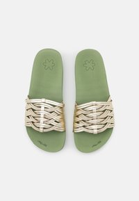 flip*flop - POOL BRAID - Slip-ins - sage/gold - 5