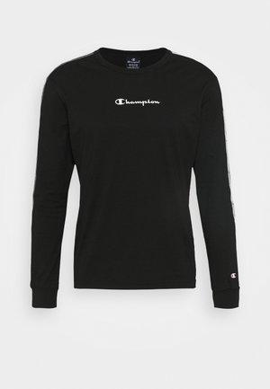 LONG SLEEVE CREWNECK - Langærmede T-shirts - black