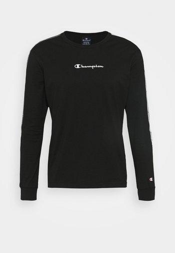 LONG SLEEVE CREWNECK - Maglietta a manica lunga - black