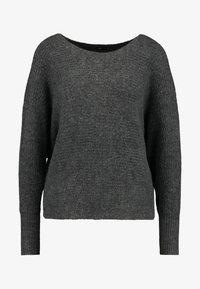 ONLY - ONLDANIELLA  - Jumper - dark grey melange - 3