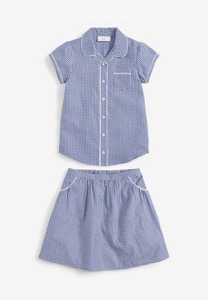 SET  - Áčková sukně - blue