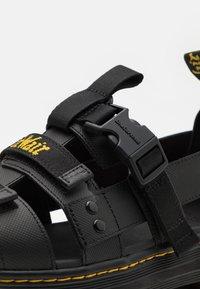 Dr. Martens - PEARSON UNISEX - Sandals - black - 5