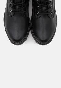 Tamaris - BOOTS - Lace-up ankle boots - black - 5
