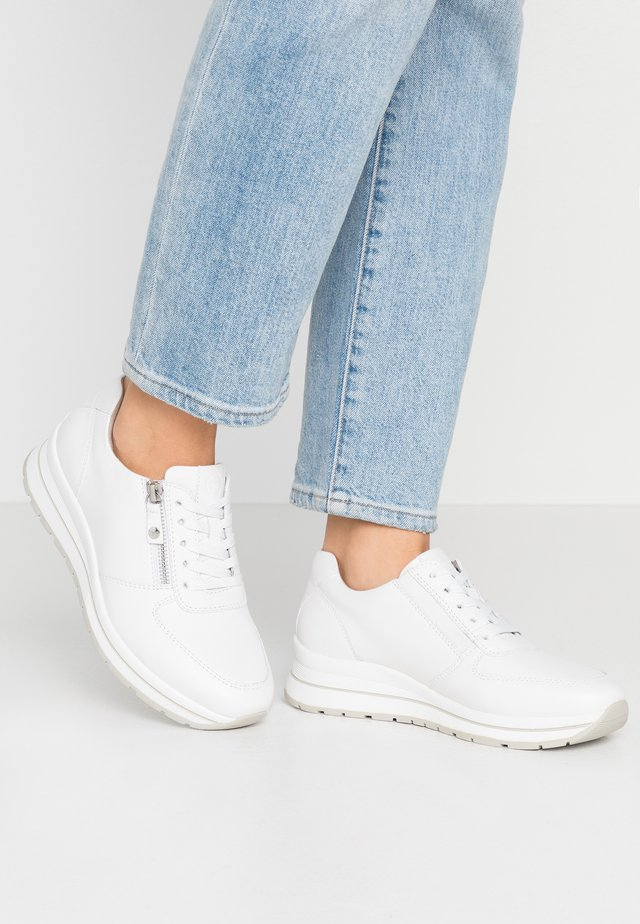 LACE-UP - Trainers - white