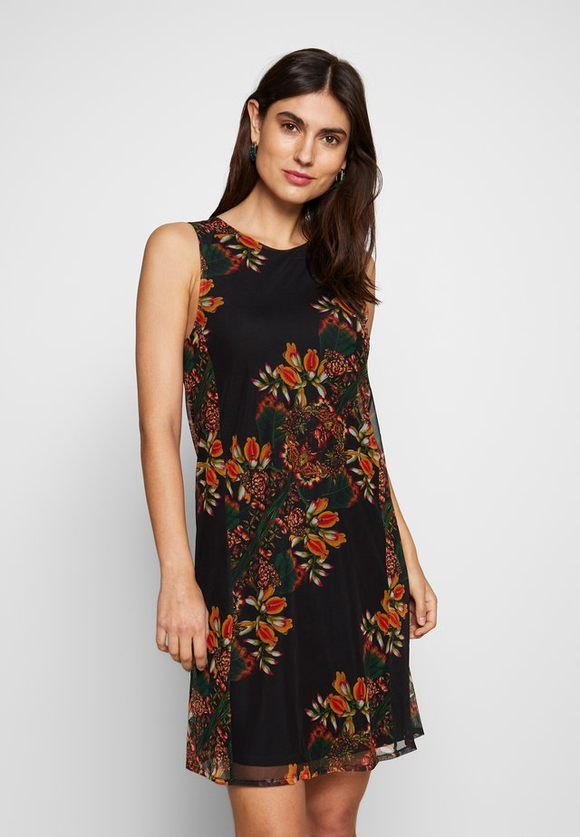 DESIGNED BY MR. CHRISTIAN LACROIX PAPILLON - Day dress - multi-coloured