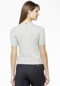 Rosa & Me - POLLY - Print T-shirt - grey - 2