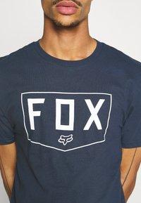 Fox Racing - SHIELD PREMIUM TEE - Print T-shirt - midnight - 5