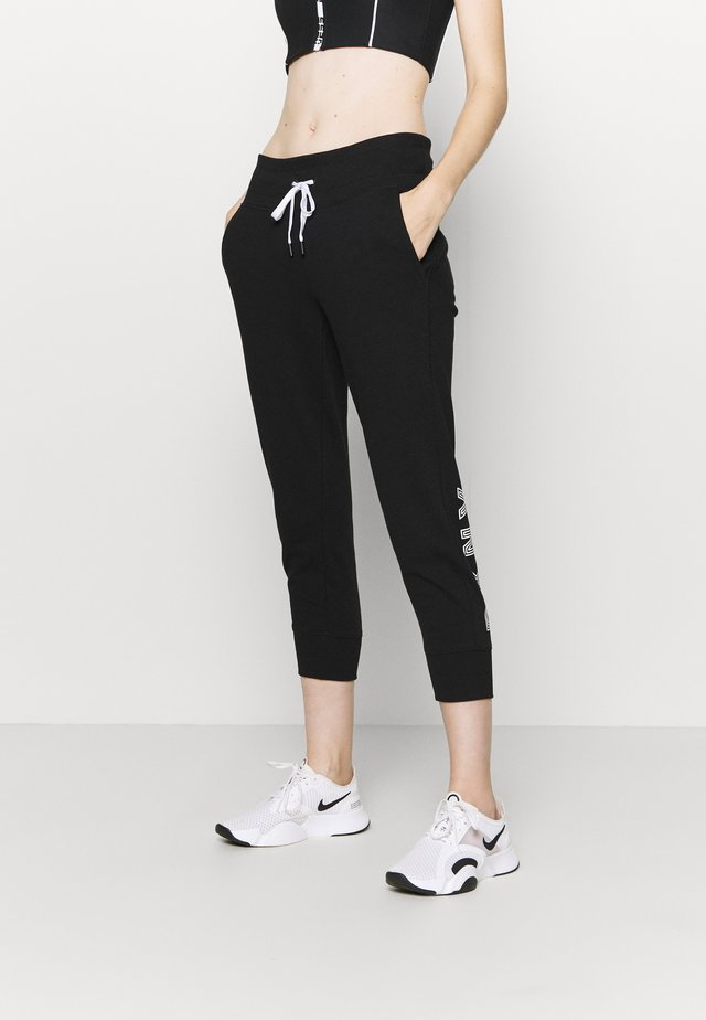 TRACK LOGO - Trainingsbroek - black