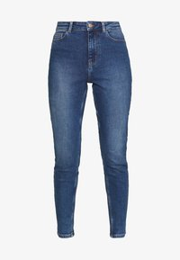 PCKAMELIA ANKLE - Jeans Skinny - medium blue denim