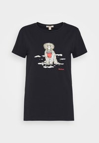 Barbour - BEACH DOG TEE - Print T-shirt - navy - 4