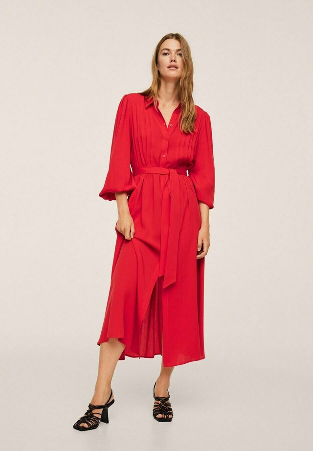 Maxi-jurk - rød
