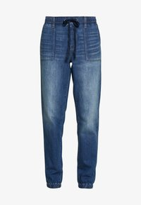 American Eagle - JOGGER - Relaxed fit jeans - rustic blue - 4