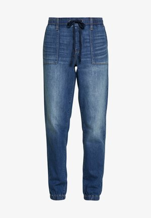 JOGGER - Jeansy Relaxed Fit - rustic blue