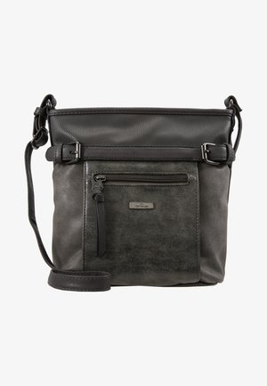 JUNA CROSS BAG - Olkalaukku - grau