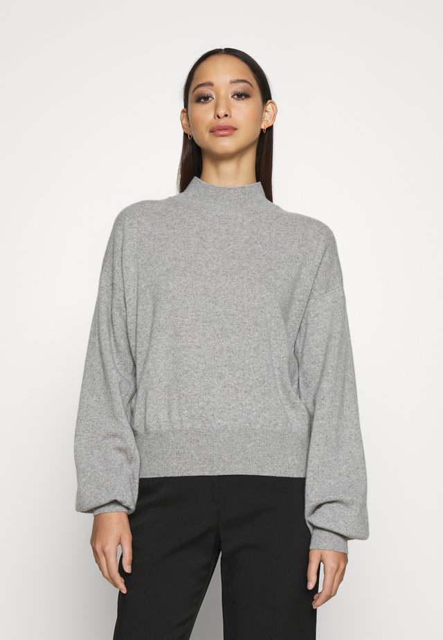 ATHENA - CASHMERE TURTLE NECK - Strikkegenser - grey