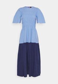 YAS - YASMARVIS LONG DRESS  - Maxi dress - cornflower blue/blue block - 6