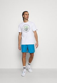 MSGM - BERMUDA SHORTS - Sports shorts - sky blue - 1
