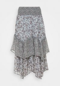American Eagle - RUFFLE HANKY - Maxi skirt - multi - 0