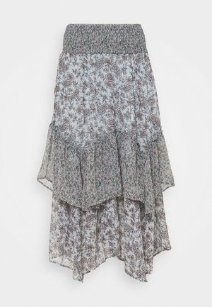 RUFFLE HANKY - Długa spódnica - multi