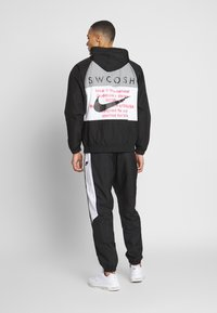 Nike Sportswear - Summer jacket - black/white/particle grey/(black) - 2