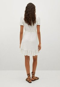 Mango - Sukienka letnia - blanc cassé - 2
