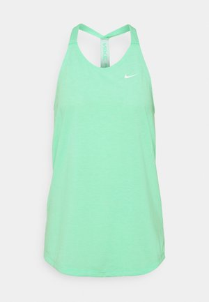 DRY ELASTIKA TANK - Camiseta de deporte - green glow/heather/white