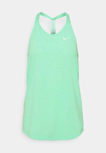DRY ELASTIKA TANK - Treningsskjorter - green glow/heather/white