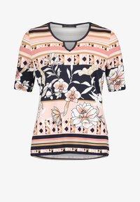 Betty Barclay - Print T-shirt - dark blue-rosé - 3