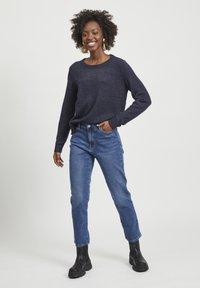 Vila - VISOMMER - Straight leg jeans - medium blue denim - 0