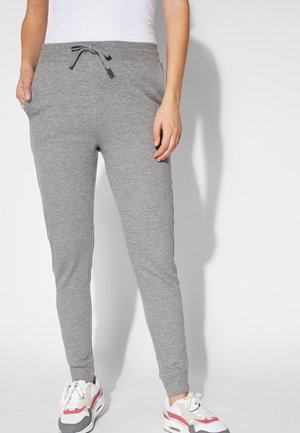 Tracksuit bottoms - grigio antracite mel